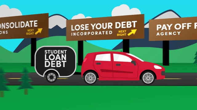 TCA Student Loan Debt Counseling – Animation