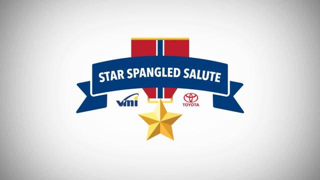 VMI & Toyota: Star Spangled Salute